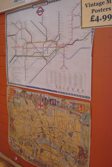 ... and maps of the city