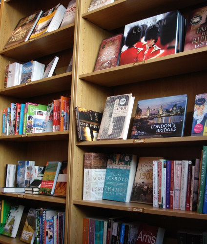 It wouldn't be Londonist if we didn't get photos of London travel books...