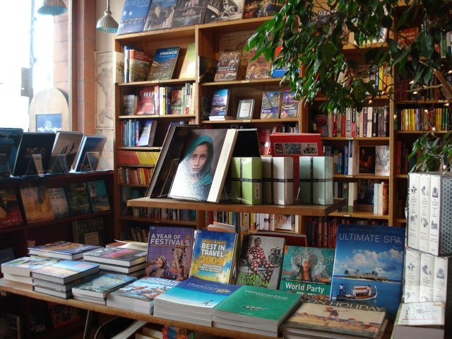 We never thought we'd be describing a bookshop as 'leafy'
