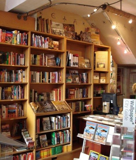 Books, books, travel books galore
