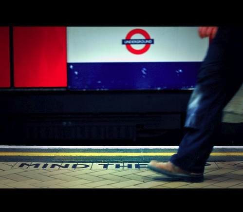 Photo of the Day: Mind the Gap?