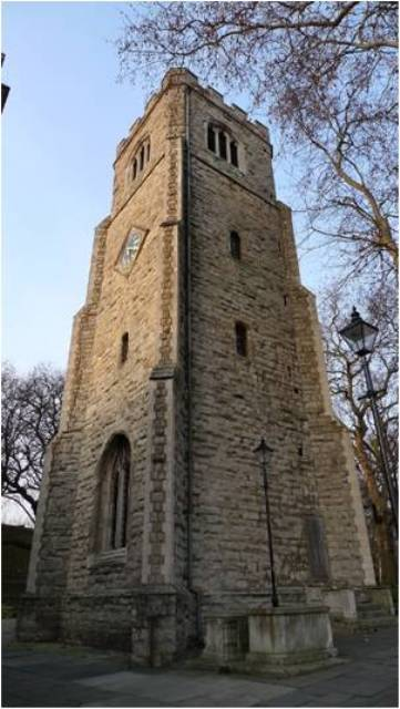 The Grade 1 listed building, Hackney's oldest, dates from the late 13th century and opens its doors to visitors only occasionally (for more details, contact the Hackney Historic Buildings Trust). Image / Ewan-M