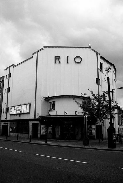 The Rio Cinema in Dalston, E8