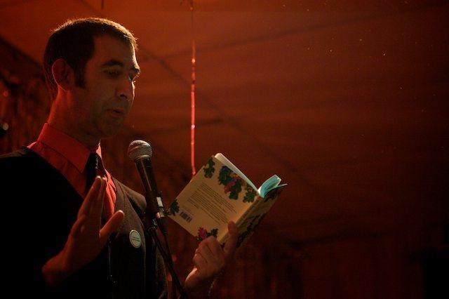 Ben Moor reads from his new book Natalie Ujuk