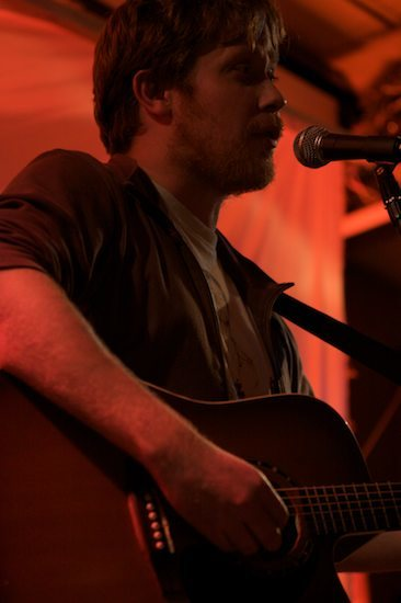 Gavin Osborn sings about Bonobos. Natalie Ujuk
