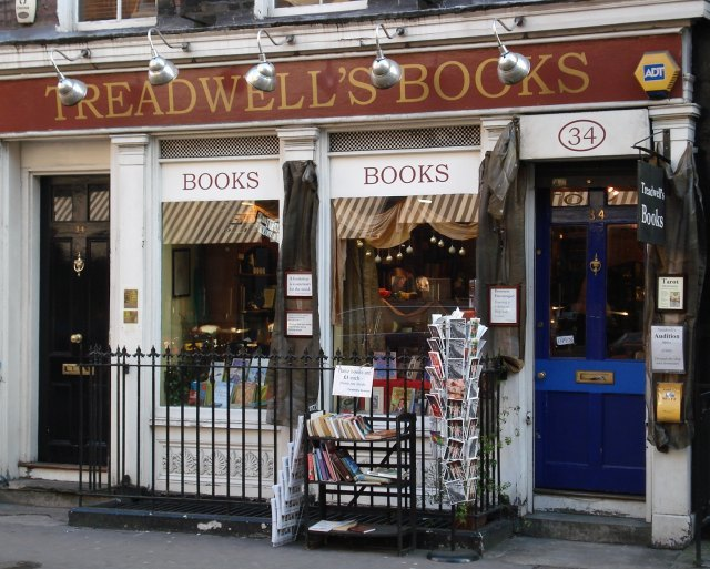 From the outside, Treadwell's barely hints at the treasures it conceals
