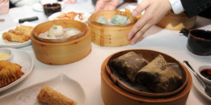 Dim Sum and Then Some at Royal China, Baker Street