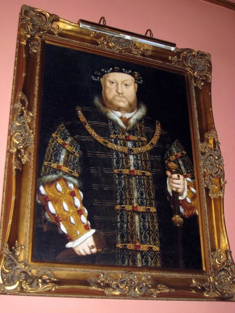 Henry VIII in the Hung, Drawn and Quartered. (Which pedant will be the first to point out in the comments that it should be 'hanged'?) Image by lindseymclarke