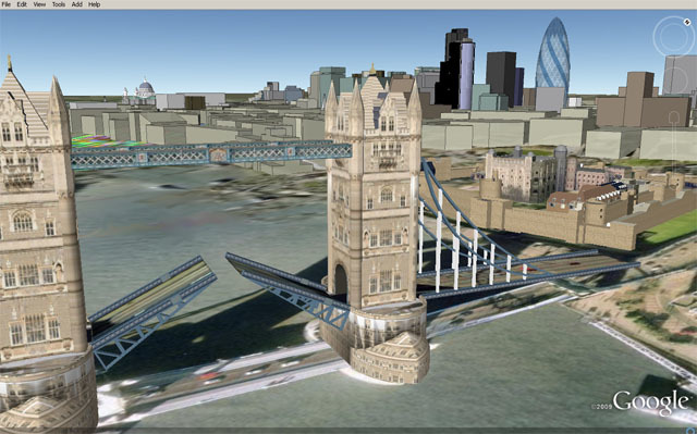 Hmm, Tower Bridge seems to have an upper and lower deck.