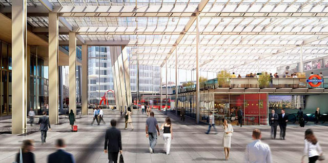 First look inside revamped london bridge station londonist for Design agency london bridge