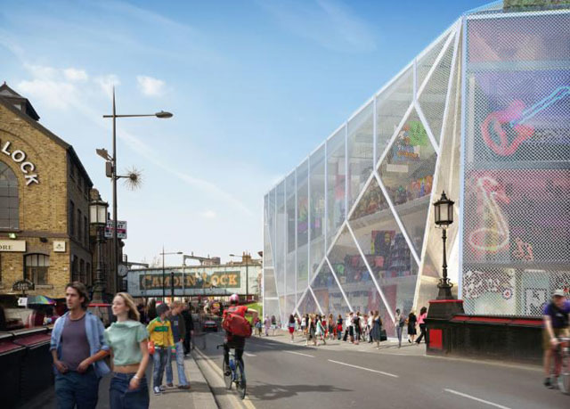Is This The Future For Camden Market Fire Site?