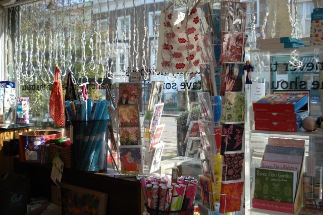 Colourful cards and giftwrap