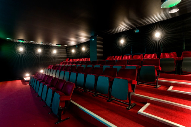 The cinema (pic courtesy Shortwave)