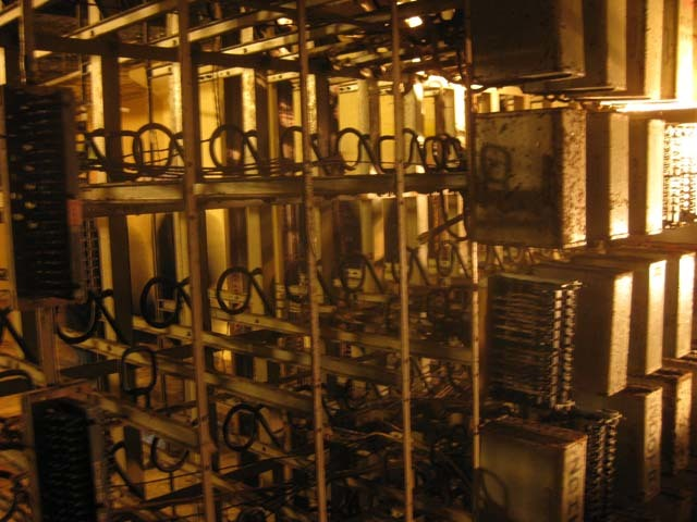 The main switchboard.