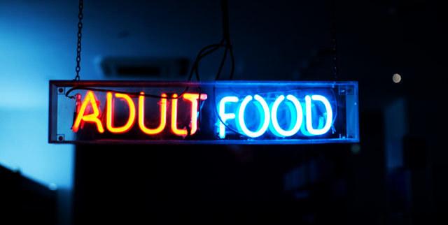 Adult Food by Tyla Arabas