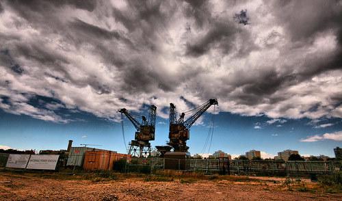 Behind Battersea Power Station by Tyla Arabas