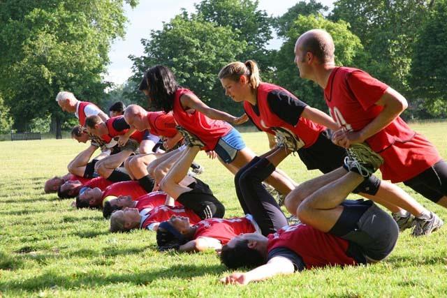 Alternative London Workouts: #1: British Military Fitness