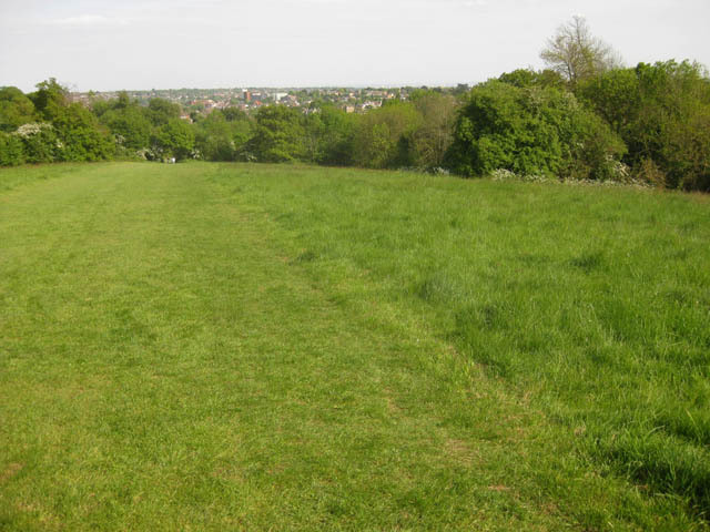 Another top view, from St George's Fields. Location of the Battle of Barnet.