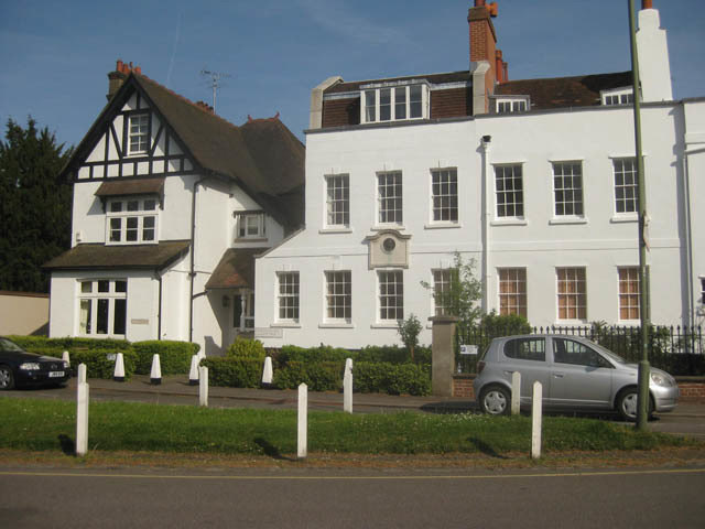 David Livingstone's house in Monken Barnet.