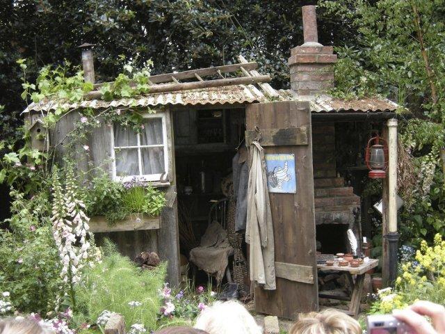 Fenland Alchemist courtyard garden
