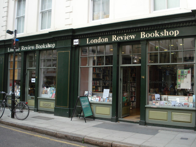 Outside the LRB. Obviously