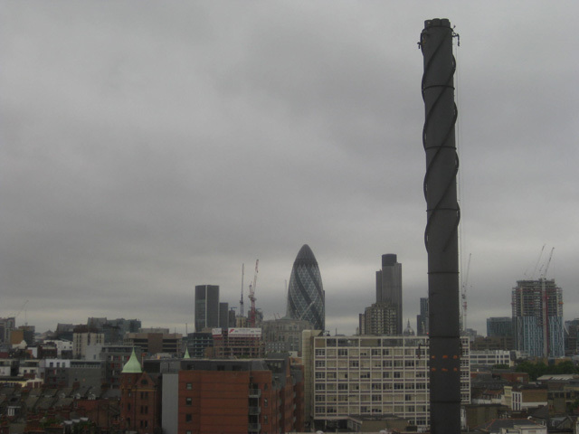 The City, in all its grey glory.