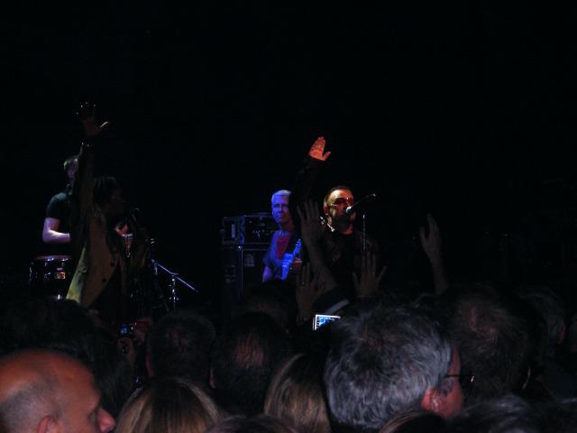Baaba Maal and Bono.