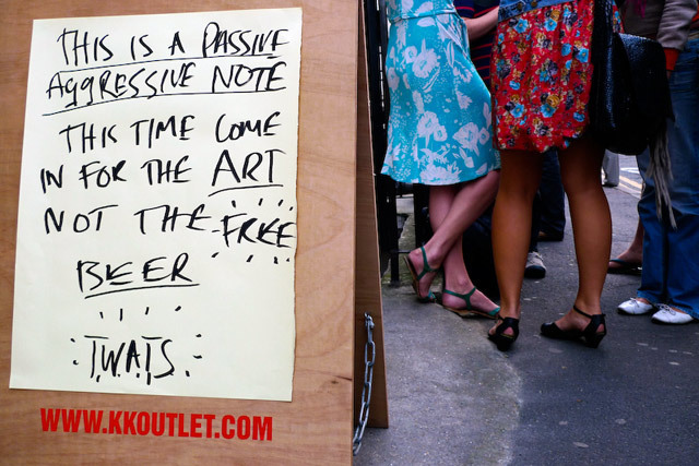 Review: Passive Aggressive Notes @ KK Outlet