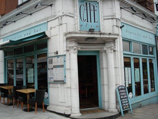And Cafe Also next door