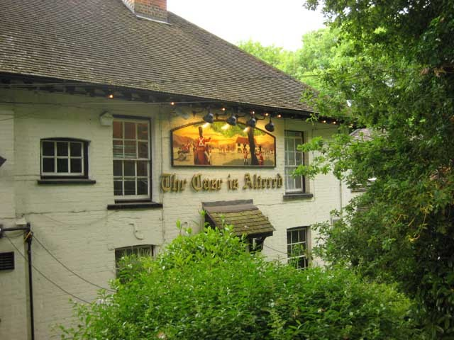The Case is Altered pub on Harrow Weald.