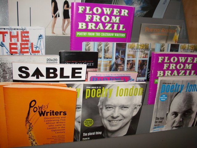 Poetry magazines, London magazines and London poetry magazines