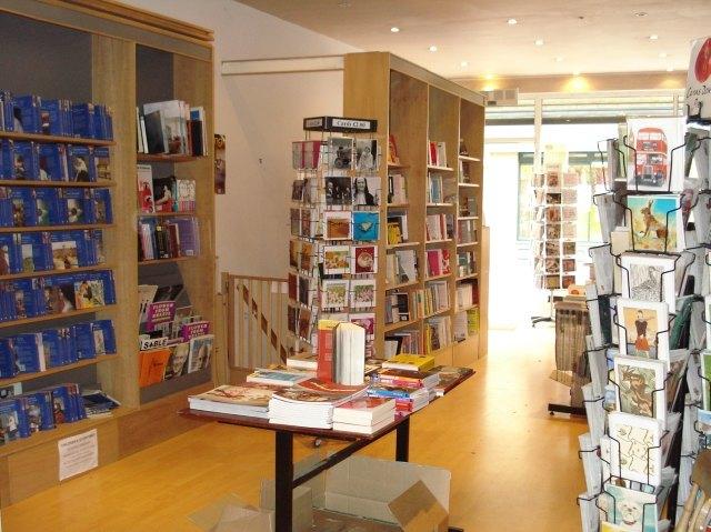 A brief period of calm inside Eastside Books