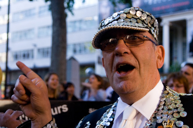 The Pearly King of Finsbury Park