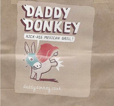 Burrito Eating Contest At Daddy Donkey