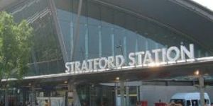 New Bridge For Stratford Goes Up