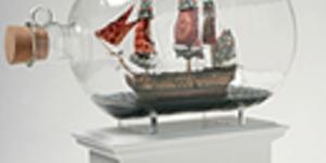 Nelson's Ship Heading For Trafalgar Square