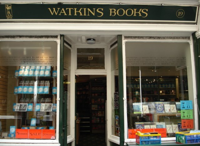 Watkins: the oldest shop on the street, here since 1905