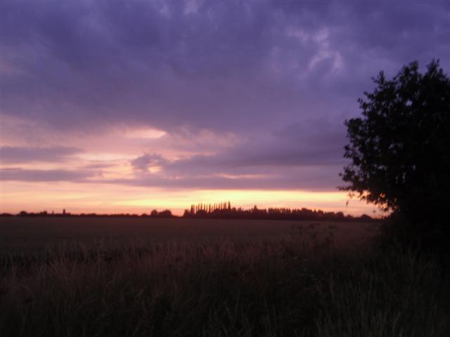 ... and through Suffolk as it rose again.