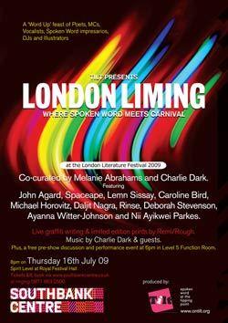 Lit Preview: London Liming At London Lit Fest