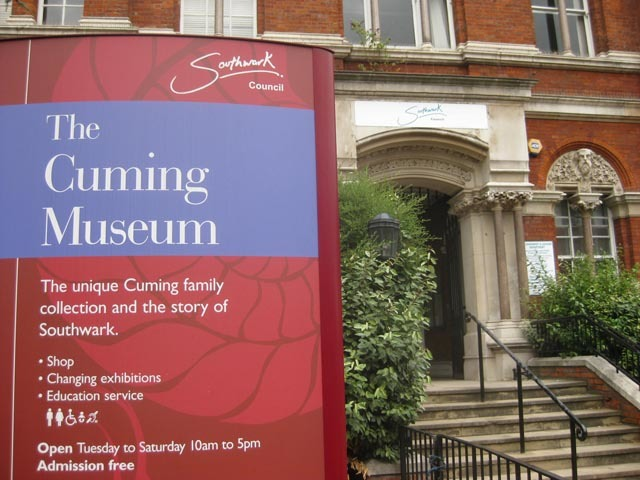 Museum of the Month: The Cuming Museum