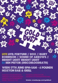 Preview: Gold Dust @ Hoxton Bar & Kitchen