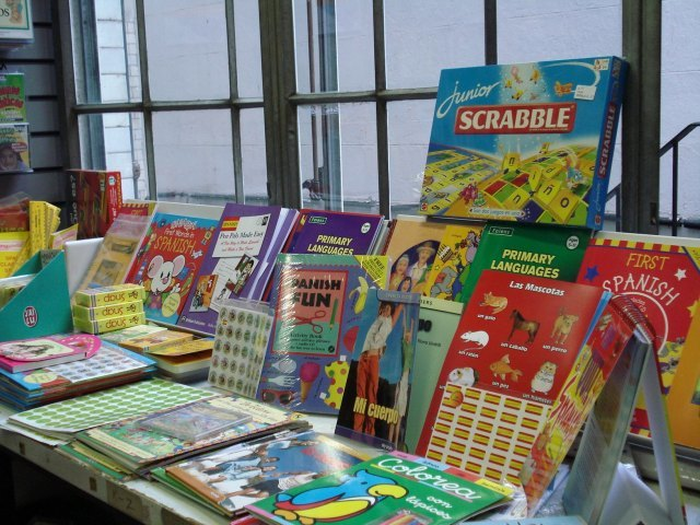 Childrens books in Spanish - and Scrabble!