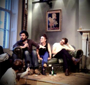 Review: Literary Death Match at the Old Queen's Head