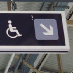Wheelchair Labelled Fire Hazard At Cinema