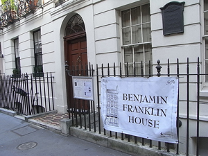 Review: Comedy Night @ Benjamin Franklin House