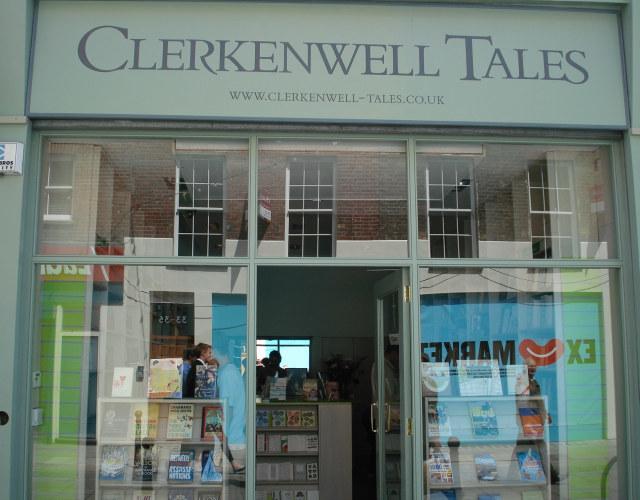 Tasteful sage paintwork of Clerkenwell Tales