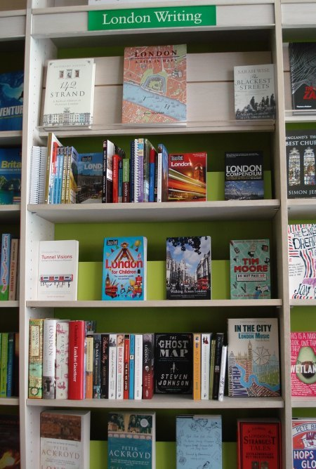 A lovely selection of Londony books (may we take the opportunity to recommend Ghost Map by Steven Johnson?)
