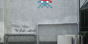 Space Invader Mosaics Launch New Invasion