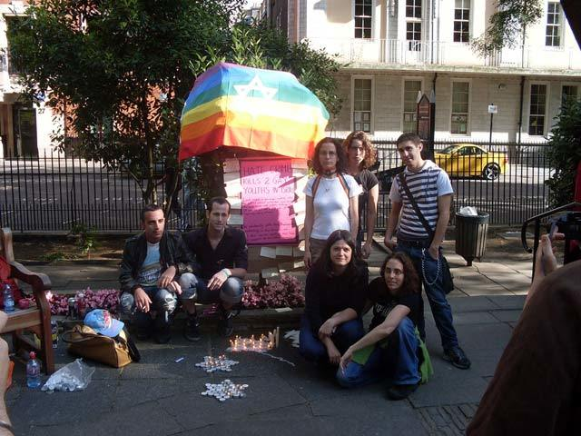London Remembers Tel Aviv Victims