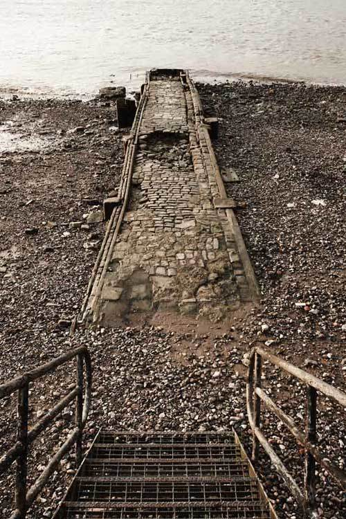 Ancient Thames jetty